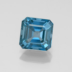 1.23 ct Natural London Blue Topaz