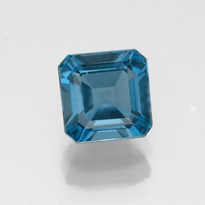 Buy 1.50 ct London Blue Topaz 6.11 mm x 6.1 mm from GemSelect (Product ID: 323612)