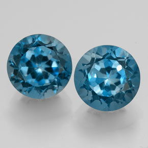 Buy 3.86ct London Blue Topaz 7.23mm  from GemSelect (Product ID: 325234)