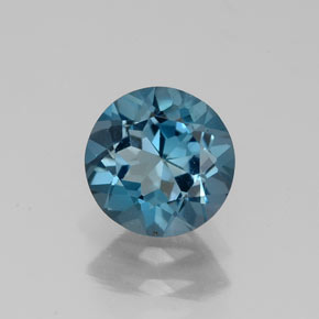 Buy 1.46 ct London Blue Topaz 7.02 mm  from GemSelect (Product ID: 325271)