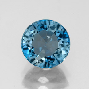 Buy 2.85ct London Blue Topaz 8.07mm  from GemSelect (Product ID: 325275)