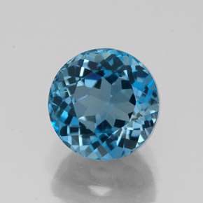 Buy 3.19 ct London Blue Topaz 8.08 mm  from GemSelect (Product ID: 325276)