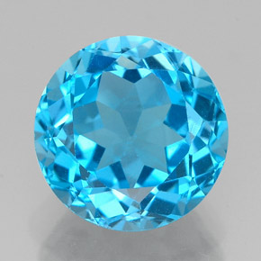 Buy 3.55 ct Swiss Blue Topaz 9.05 mm  from GemSelect (Product ID: 327200)