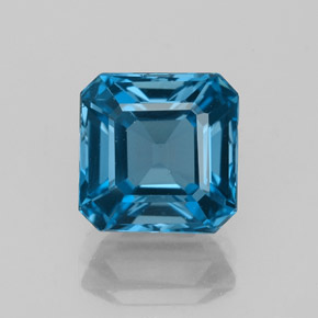 Buy 3.17 ct London Blue Topaz 7.96 mm x 7.9 mm from GemSelect (Product ID: 327455)