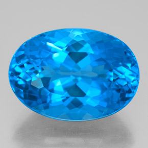 Buy 15.02 ct Swiss Blue Topaz 17.20 mm x 12.2 mm from GemSelect (Product ID: 332428)