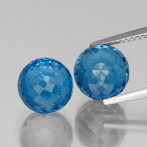 Swiss Blue Topaz Gem - 5.1ct Spherical (ID: 338474)