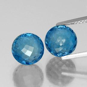 Blue Topaz Gem - 4.8ct Spherical (ID: 338475)