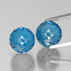 Swiss Blue Topaz Gem - 4.5ct Spherical (ID: 338533)