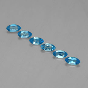 Swiss Blue Topaz Gem - 0.5ct Marquise Facet (ID: 339283)