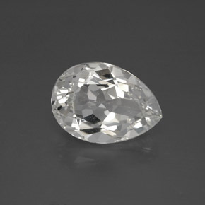 thumb image of 7.2ct Pear Facet White Topaz (ID: 385037)