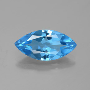 thumb image of 4.3ct Marquise Facet Swiss Blue Topaz (ID: 385093)