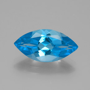 thumb image of 4.3ct Marquise Facet Swiss Blue Topaz (ID: 385113)