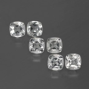 White Topaz Gem - 0.5ct Cushion-Cut (ID: 385426)