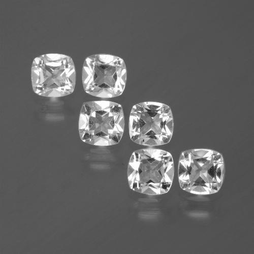 White Topaz Gem - 0.5ct Cushion-Cut (ID: 385574)