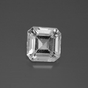 thumb image of 3.1ct Octagon Facet White Topaz (ID: 385823)