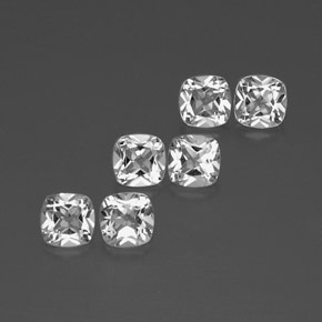 White Topaz Gem - 0.5ct Cushion-Cut (ID: 386005)