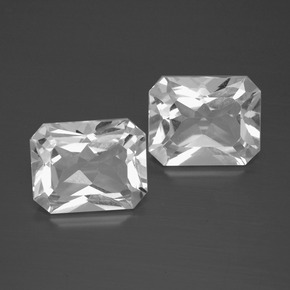 White Topaz Gem - 3.5ct Octagon Facet (ID: 386283)