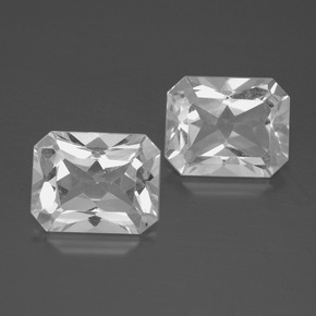 White Topaz Gem - 3.8ct Octagon Facet (ID: 386287)