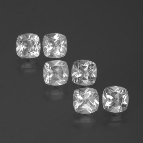 White Topaz Gem - 0.5ct Cushion-Cut (ID: 386358)