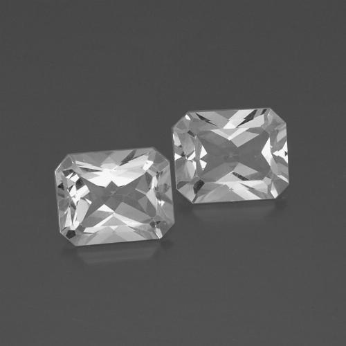 White Topaz Gem - 3.8ct Octagon Facet (ID: 386440)