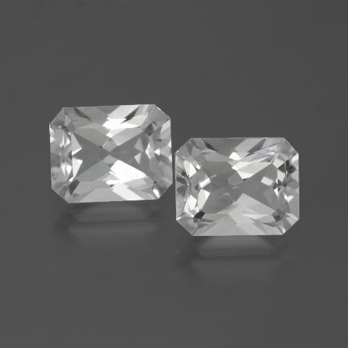 White Topaz Gem - 3.8ct Octagon Facet (ID: 386541)