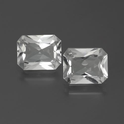 White Topaz Gem - 3.3ct Octagon Facet (ID: 386544)