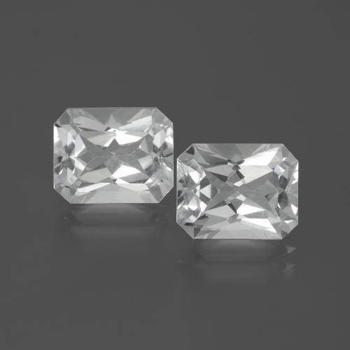 White Topaz Gem - 3.9ct Octagon Facet (ID: 386545)