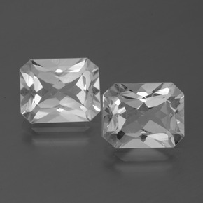 White Topaz Gem - 3.8ct Octagon Facet (ID: 386590)