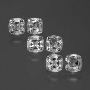 White Topaz Gem - 0.5ct Cushion-Cut (ID: 387028)