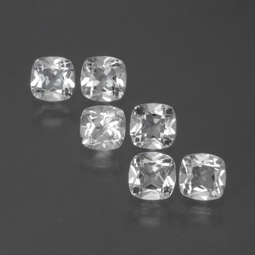 White Topaz Gem - 0.5ct Cushion-Cut (ID: 387433)