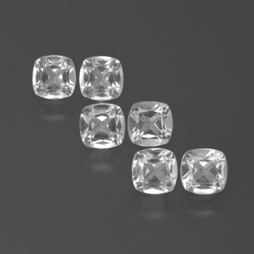 White Topaz Gem - 0.5ct Cushion-Cut (ID: 387717)