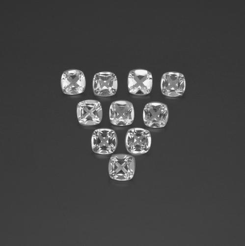 White Topaz Gem - 0.5ct Cushion-Cut (ID: 387761)