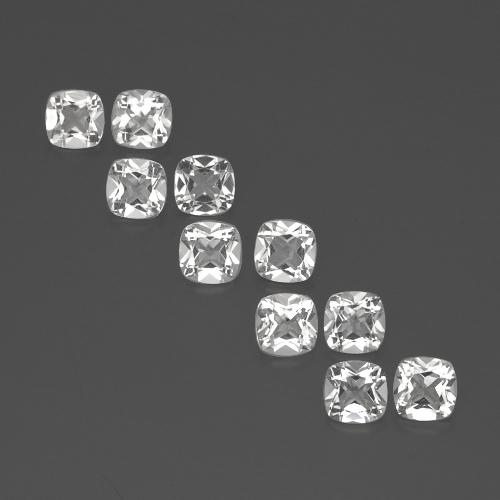 White Topaz Gem - 0.5ct Cushion-Cut (ID: 387809)