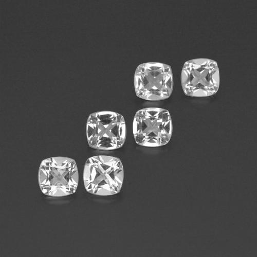 White Topaz Gem - 0.5ct Cushion-Cut (ID: 387851)