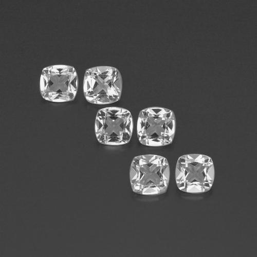 White Topaz Gem - 0.5ct Cushion-Cut (ID: 387860)