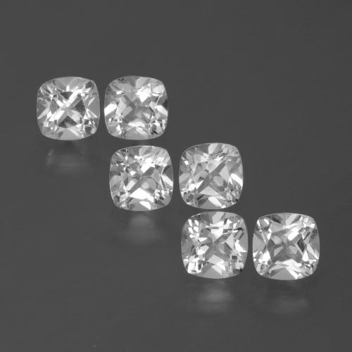 White Topaz Gem - 0.5ct Cushion-Cut (ID: 387894)