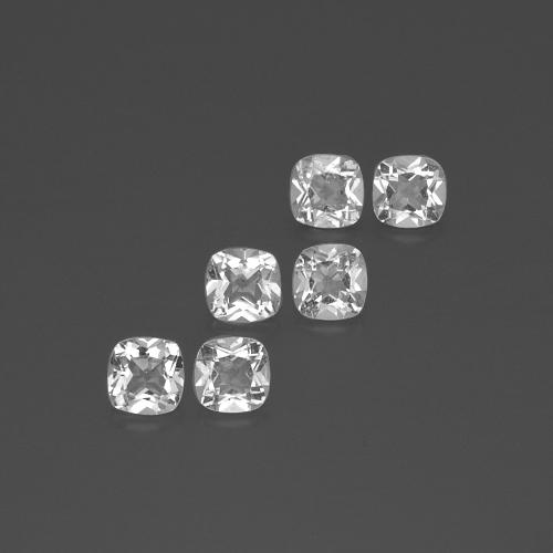 White Topaz Gem - 0.5ct Cushion-Cut (ID: 387952)