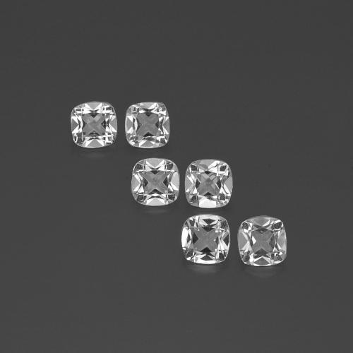 White Topaz Gem - 0.5ct Cushion-Cut (ID: 387957)