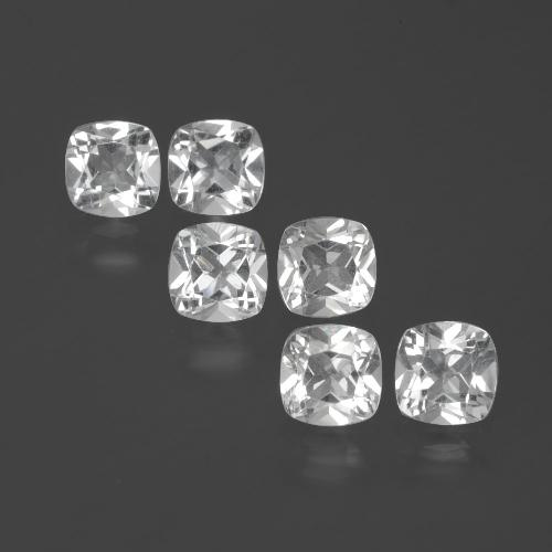 White Topaz Gem - 0.5ct Cushion-Cut (ID: 388047)