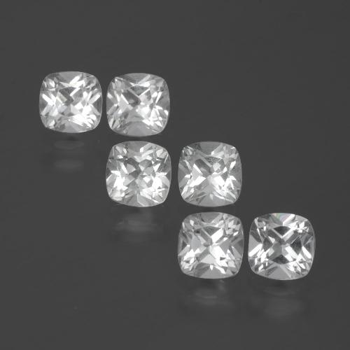 White Topaz Gem - 0.5ct Cushion-Cut (ID: 388048)
