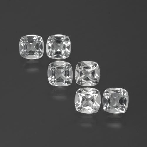 White Topaz Gem - 0.5ct Cushion-Cut (ID: 388098)