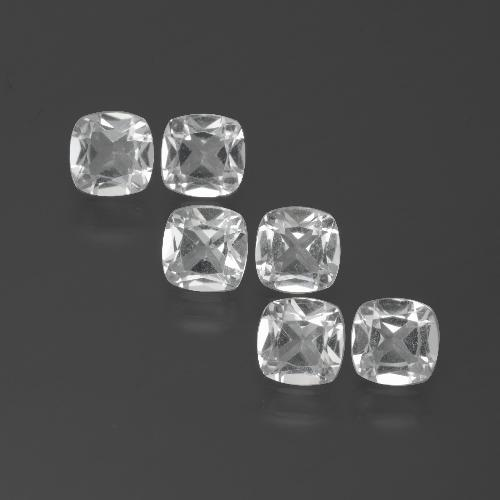 White Topaz Gem - 0.5ct Cushion-Cut (ID: 388099)