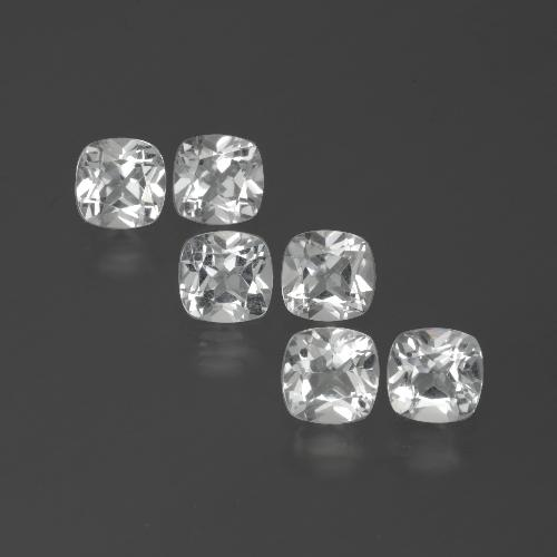 White Topaz Gem - 0.5ct Cushion-Cut (ID: 388104)