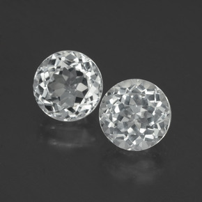 thumb image of 4.6ct Round Facet White Topaz (ID: 396471)