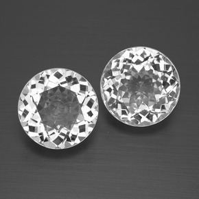 thumb image of 5.5ct Round Facet White Topaz (ID: 396595)