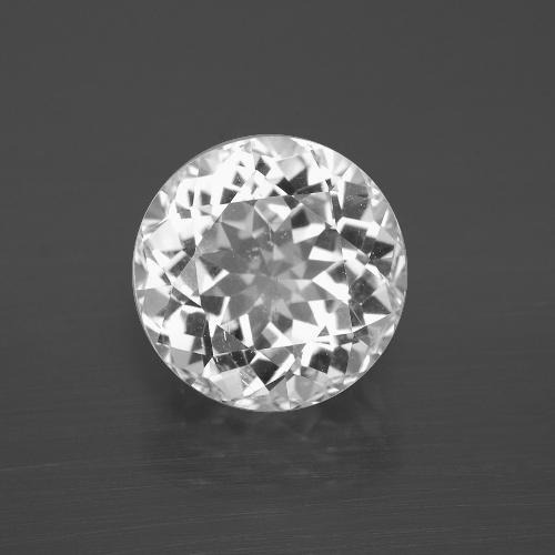 thumb image of 6ct Round Facet White Topaz (ID: 396845)
