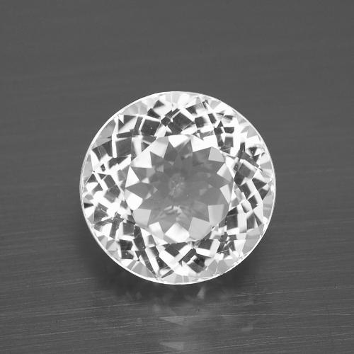 thumb image of 4.5ct Round Facet White Topaz (ID: 396858)