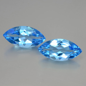 thumb image of 8.8ct Marquise Facet Swiss Blue Topaz (ID: 399381)