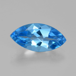 thumb image of 4.3ct Marquise Facet Swiss Blue Topaz (ID: 399617)