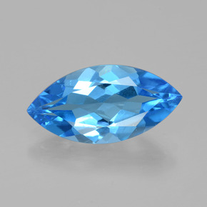 thumb image of 4.6ct Marquise Facet Swiss Blue Topaz (ID: 399621)